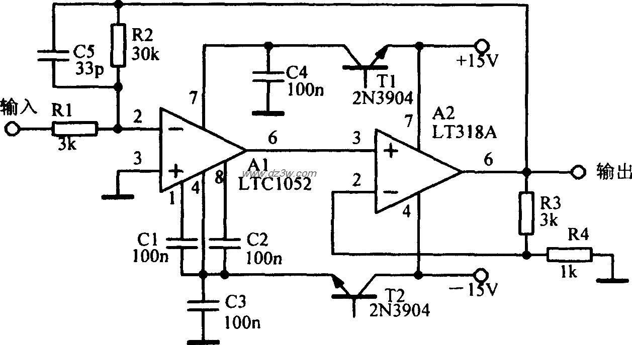 放大电路输出电流和电压