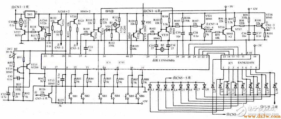 电磁炉电路原理图