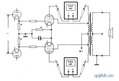电路图 用el34制作的合并式电子管功放(下)