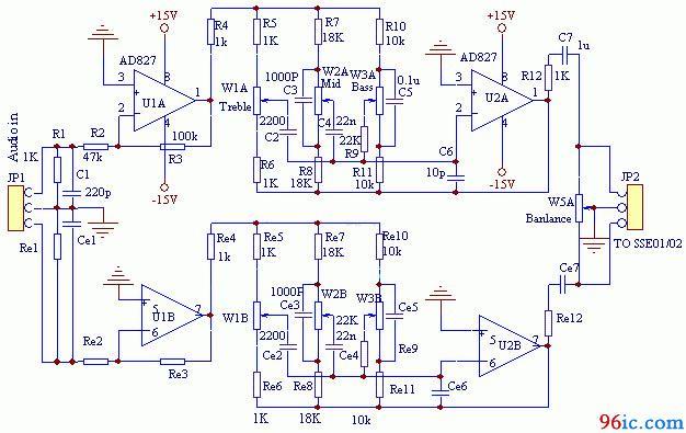 求ne5532与tda2030a组成的双声道功放电路 求大虾指点