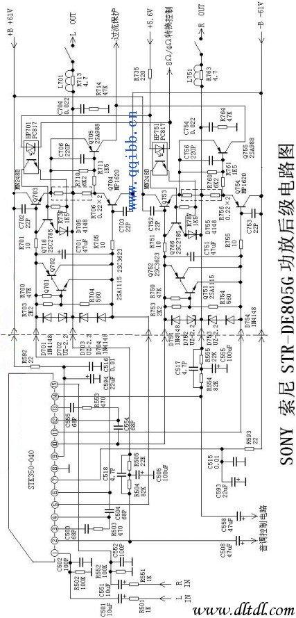 tda1551q功放电路图纸原理图 tda1551q功放电路图纸原理图,tda1551q