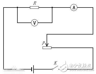 滑动变阻器分压接法实物图参照步骤解析
