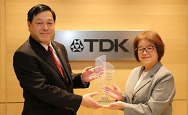 TDK作为世界前100位创新企业之一