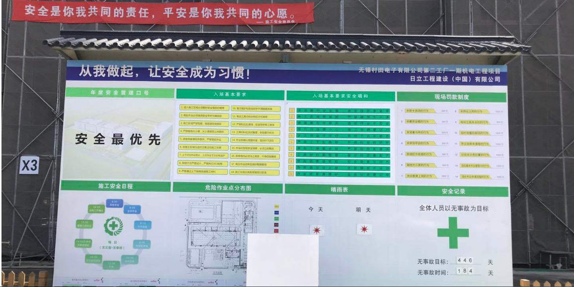 村田电子元器件二工厂项目现场考察