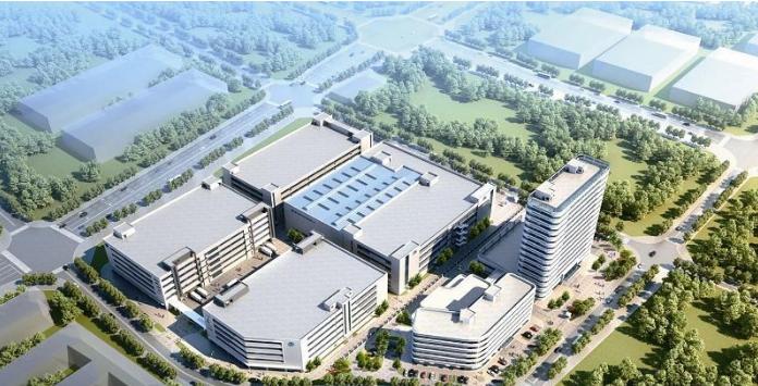 中国最大电子元器件智能物流中心在厦门环东海域新城开工